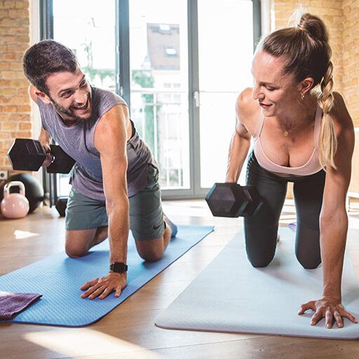 effektives Training bei euch zu Hause
