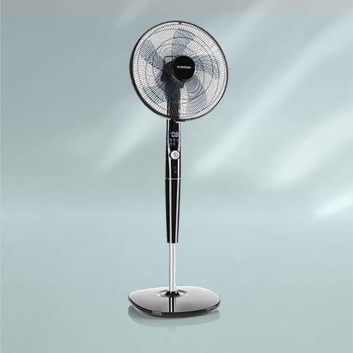 Der Erfrischungssturm: Mit dem Klarstein Silent Storm Standventilator ist für das perfekte Raumklima gesorgt!