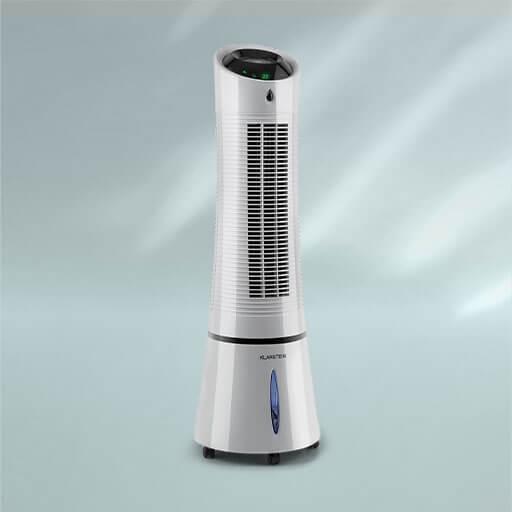 Das 4-in-1 Klimagerät Skyscraper Ice von Klarstein überragt optisch und leistungstechnisch seine Kollegen und bringt frische Luft in deine Räume.